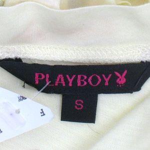 PLAYBOY Tops - NEW Playboy Long Sleeve T Shirt Top Vegas '53 Sz S